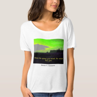 Bad Craziness in Monument Valley T-Shirt