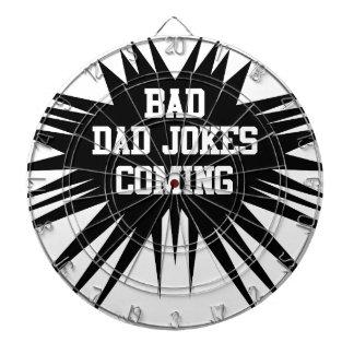 Bad dad jokes coming dartboard