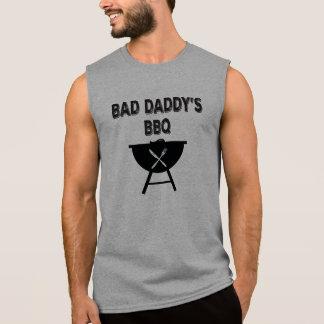 Bad Daddy BBQ. Papa BBQ. Sleeveless Shirt