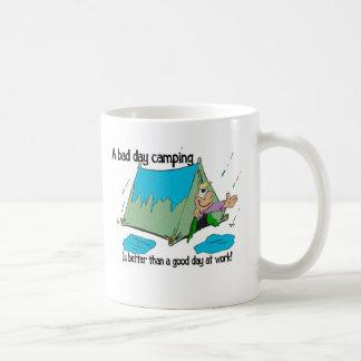 Bad Day camping Coffee Mug