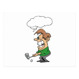 Bad Day Golfer T-shirts and Gifts Postcard