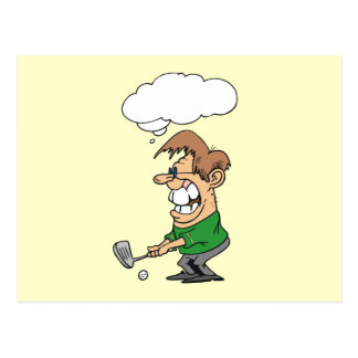 Bad Day Golfer T-shirts and Gifts Post Cards