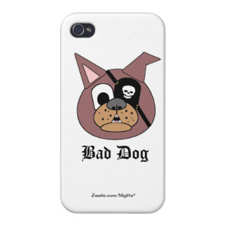 Bad Dog iPhone 4/4S Covers