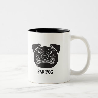 Bad Dog Two-Tone Coffee Mug