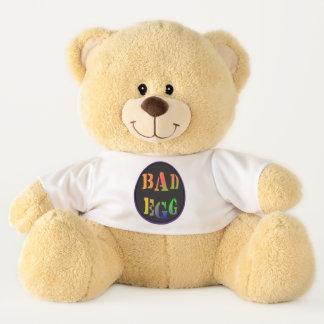 Bad Egg Statement T-shirt Teddy Bear