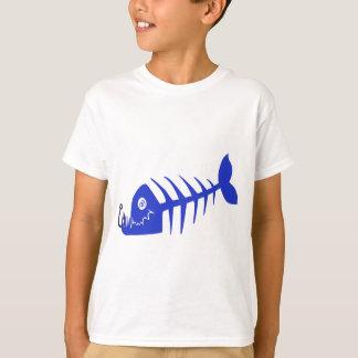 Bad Fish Blue Skull T-Shirt