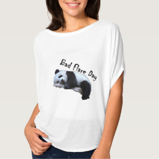 Bad Flare Day Panda Shirt- Slouchy T-Shirt