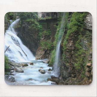 Bad Gastein upper falls Mouse Pad