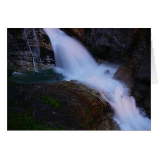 Bad Gastein Waterfall Card