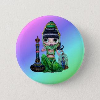 Bad Genie Rainbow Button