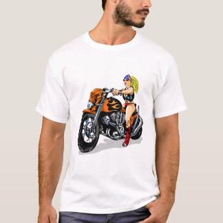 Bad Girl Biker Chick T-Shirt
