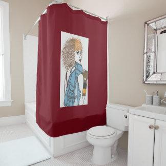 Bad Girl Shower Curtain