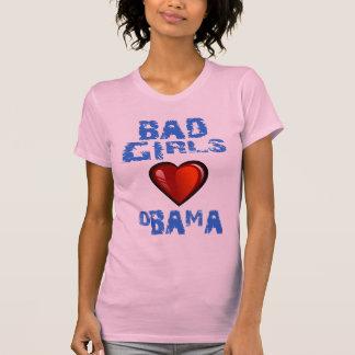 BAD GIRLS LOVE OBAMA TEE SHIRT