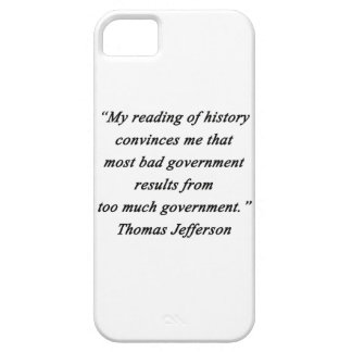 Bad Government - Thomas Jefferson Barely There iPhone 5 Case