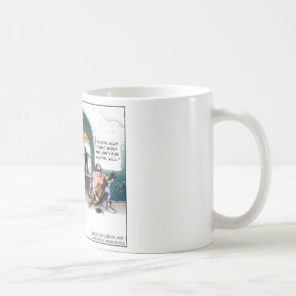 """Bad Guitarist"" Funny Cartoon Gifts & Collectibles Basic White Mug"