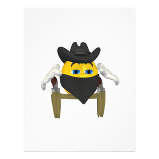 Bad Guy Cowboy 3 Flyers