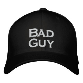 Bad Guy Hat Embroidered Hats