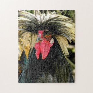 Bad Hair Chicken Photo Jigsaw Puzzle