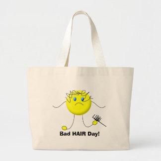Bad HAIR Day! Tote Bag