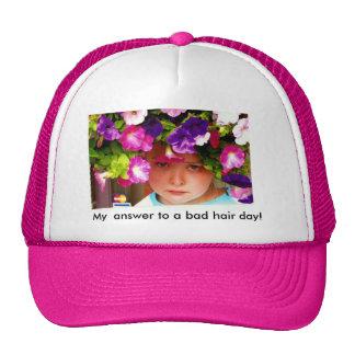 Bad Hair Day! Mesh Hats
