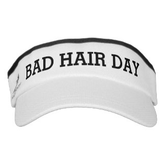 Bad Hair Day Funny Visor