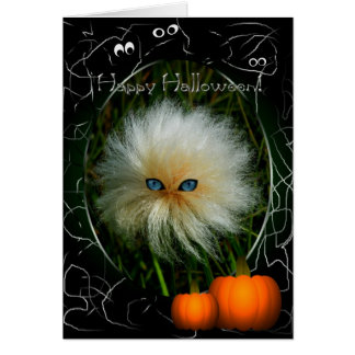 Bad Hair Day Halloween Greeting Cards