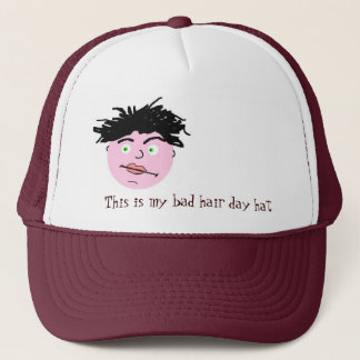 Bad hair day hat -men