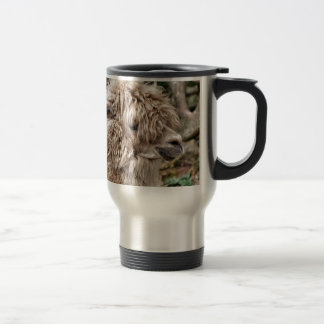 Bad Hair Day Lama Travel Mug