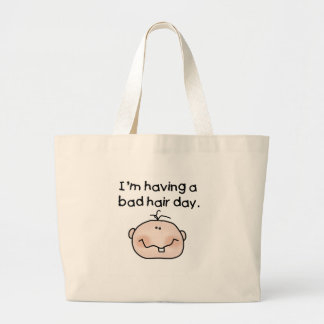 Bad Hair Day Jumbo Tote Bag