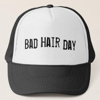 """""""BAD HAIR DAY"""" Trucker Hat"""