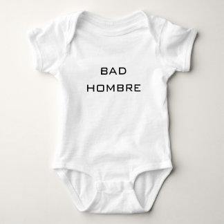 bad hombre- baby political humor cute funny baby bodysuit