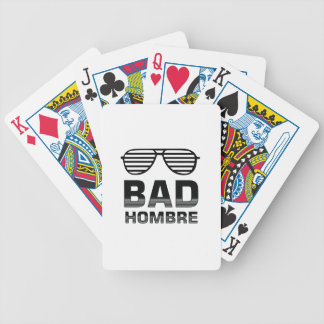 Bad Hombre Bicycle Playing Cards