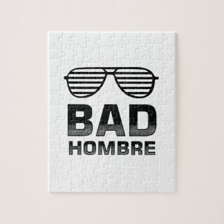 Bad Hombre Jigsaw Puzzle