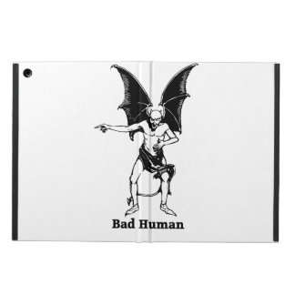 Bad Human Mocking devil Cover For iPad Air