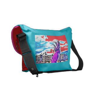 Bad Jama Messanger Bag- by Kay Loven Messenger Bags
