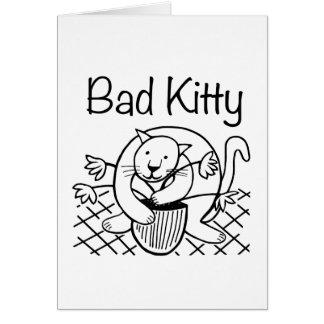 Bad Kitty 2 Card
