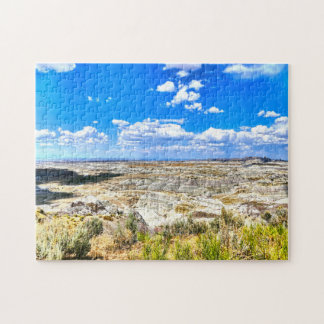 Bad Lands  New Mexico. Jigsaw Puzzle