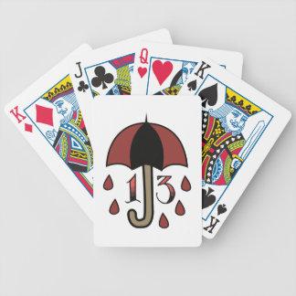 Bad Luck Umbrella Poker Deck