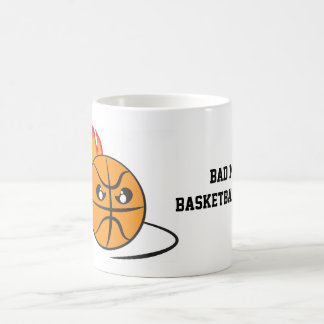 Bad Mood Basketball Coach Coffee Mug