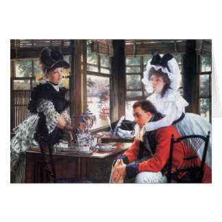Bad news (The separation) by James Tissot Card