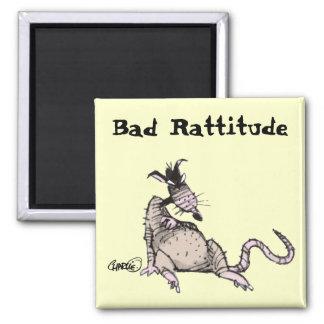 Bad Rattitude Magnet