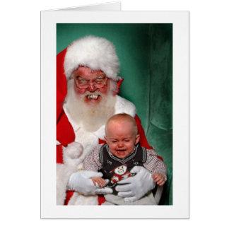 Bad Santa Card