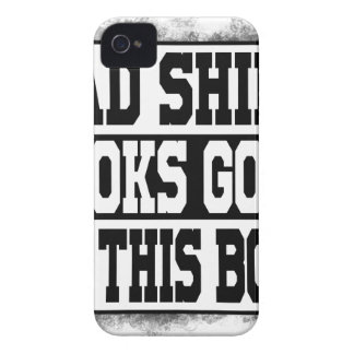 Bad shirt looks good on this body iPhone 4 cover