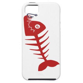 Bad Skull Fish Network Case For The iPhone 5