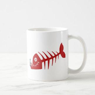Bad Skull Fish Network Coffee Mug