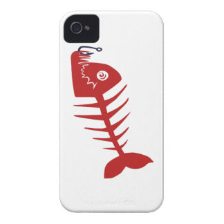 Bad Skull Fish Network iPhone 4 Cases