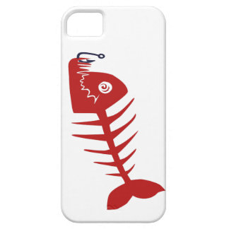 Bad Skull Fish Network iPhone 5 Case