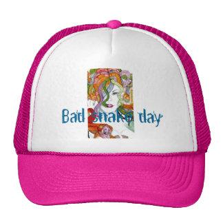 Bad snake day medusa ladies cap