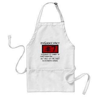 Bad taste dyslexic joke standard apron