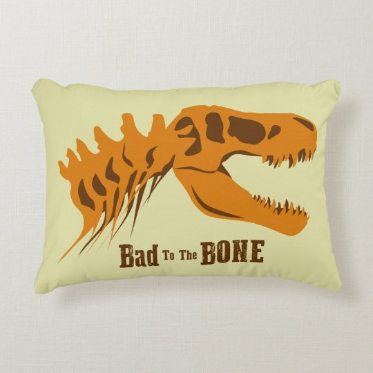 Bad to the Bone Decorative Cushion